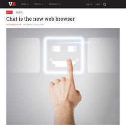 Chat is the new web browser