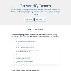 Browserify