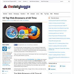 10 Top Web Browsers of All Time