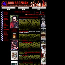 Bob Brozman Official Website - Traveling the World of Music