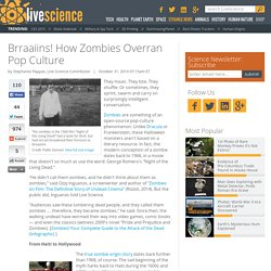 Brraaiins! How Zombies Overran Pop Culture