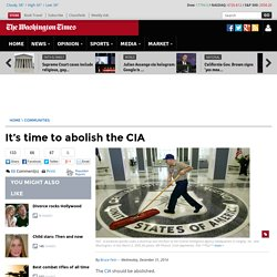 BRUCE FEIN: It's time to abolish the CIA
