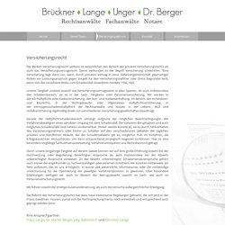 Brückner - Lange - Unger - Dr. Berger