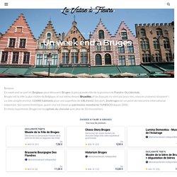 Un week end à Bruges