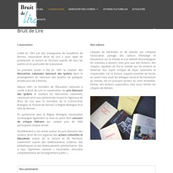 Association Bruit de Lire