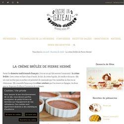 Crème brûlée à la vanille - Recette de Pierre Hermé