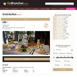 Brunch My Place (75009 Paris 9ème)