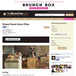 Brunch Puerto Cacao 17eme (Paris 17eme