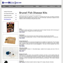 Brunel Fish Disease Kit