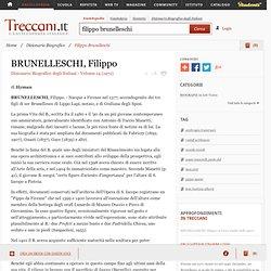 Filippo Brunelleschi in Dizionario Biografico