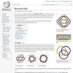 Brunnian link