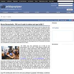 Bruno Devauchelle : PIX va-t-il subir le même sort que le B2i ?