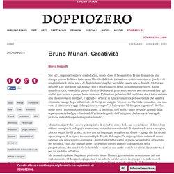 Bruno Munari. Creatività