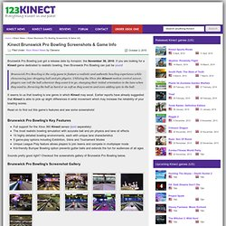 Kinect Brunswick Pro Bowling Screenshots & Game Info | KINECT Games News | Kinect GAMES List | Kinect Forum | Reviews