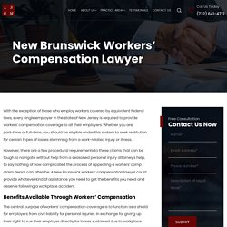 New Brunswick Workers' Compensation Lawyer
