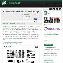 600+ Nature Brushes for Photoshop - Web Design Blog – DesignM.ag