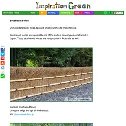 Brushwood Fence