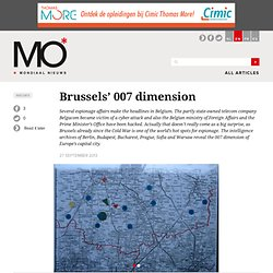 Brussels' 007 dimension