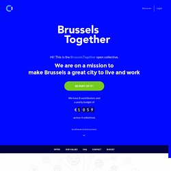 BrusselsTogether is on Open Collective