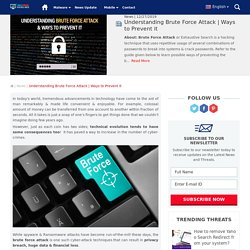 What is it & how to prevent hacking