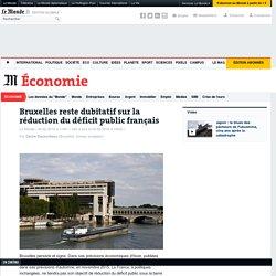 Bruxelles reste dubitatif sur la réduction du déficit public français
