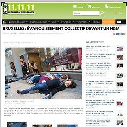 Bruxelles : évanouissement collectif devant un H&M