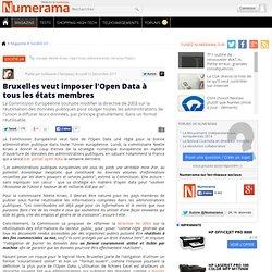 Bruxelles veut imposer l'Open Data à tous les états membres