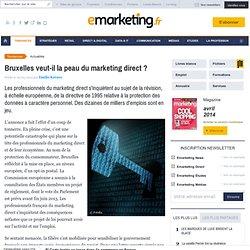 Le règlement européen sur les données personnelles inquiète les professionnels du marketing direct