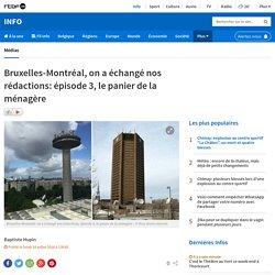 Bruxelles-Montréal, on a échangé nos rédactions: épisode 3, le panier de la ménagère