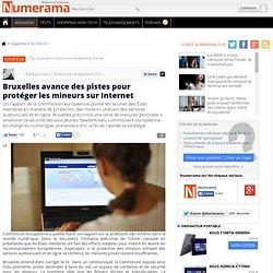 Bruxelles avance des pistes pour protéger les mineurs sur Internet