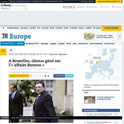 A Bruxelles, silence gêné sur l'«affaire Barroso»