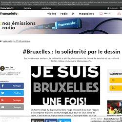 #Bruxelles : la solidarité par le dessin