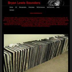 Bryan Lewis Saunders - Self-Portraits