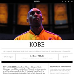 Is Kobe Bryant the reason for the Los Angeles Lakers' downfall?