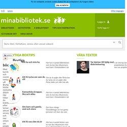 Brytiga böcker - Minabibliotek