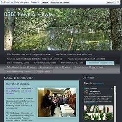 BSBI News & Views: Hurrah for herbaria!
