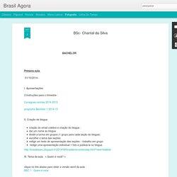 Brasil Agora: BSc- Chantal da Silva