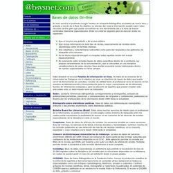 @bsysnet.com - Bases de datos on-line