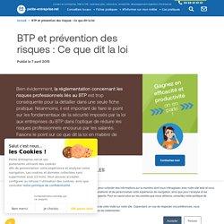 BTP et prévention des risques : Ce que dit la loi