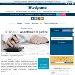 BTS CGO - Comptabilité et gestion