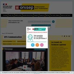 BTS Communication - Onisep
