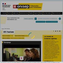 BTS Tourisme - Onisep
