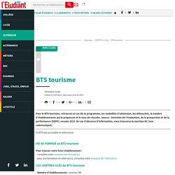 BTS tourisme (*) - L'Etudiant