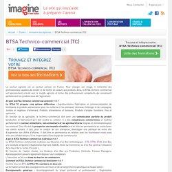 BTSA Technico-commercial (TC)