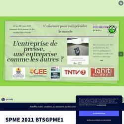 SPME 2021 BTSGPME1 by Perrine Chambaud on Genially