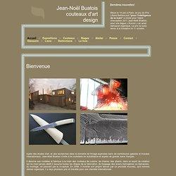 Jean-Noël Buatois couteaux d'art design - Accueil