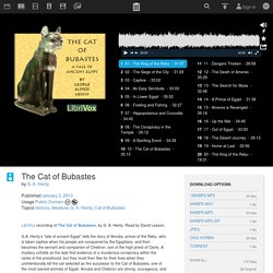 The Cat of Bubastes : G. A. Henty