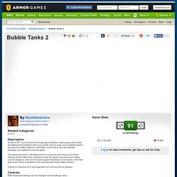 Bubble Tanks 2 | Shooting Games