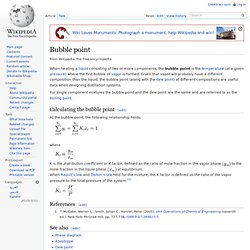 Bubble point
