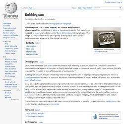 Bubblegram